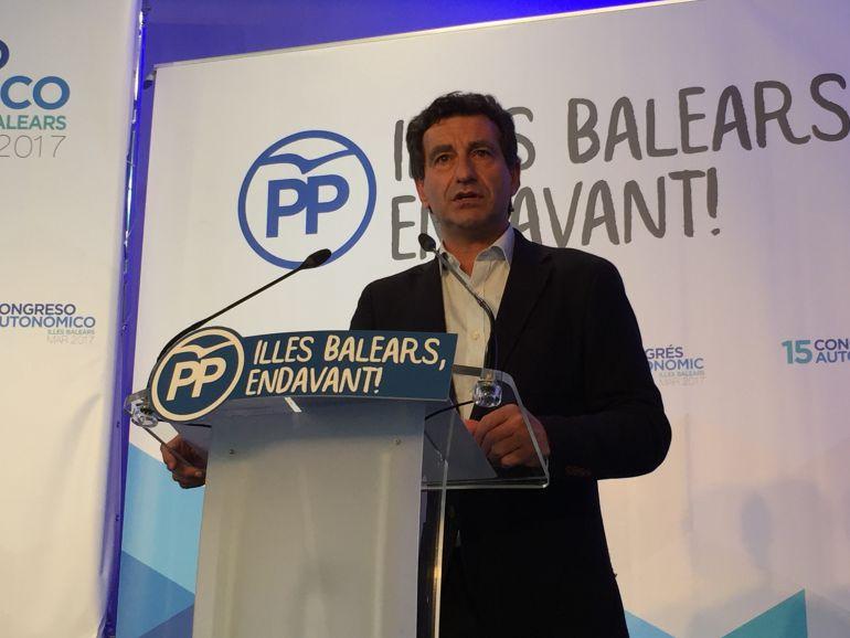 Imagen de archivo del presidente del PP balear, Biel Company