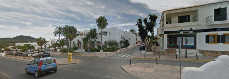 El núcleo urbano de Sant Josep