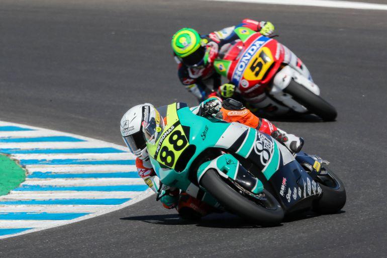 Ricky Cardús, ganador de Moto2 en el circuito de Jerez