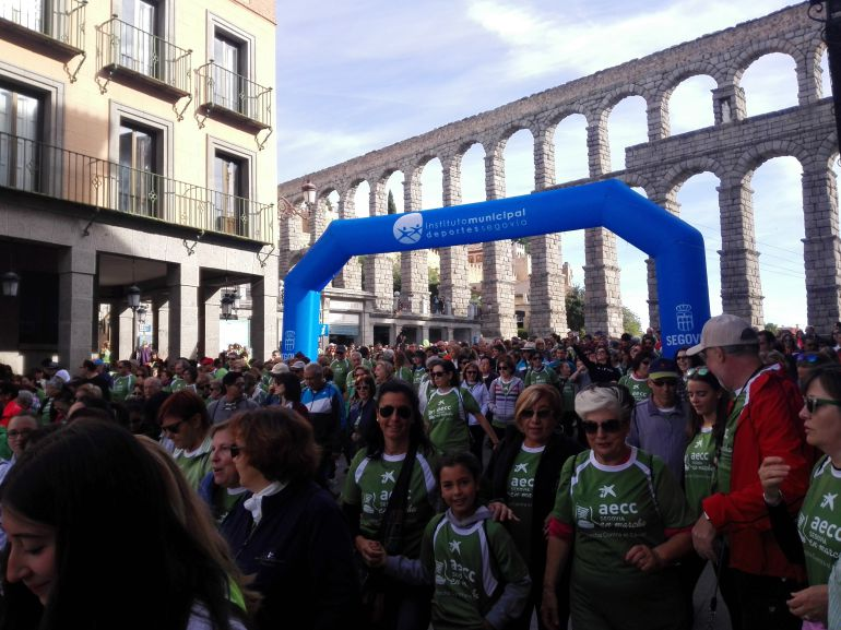 IV Marcha contra el Cáncer de Segovia