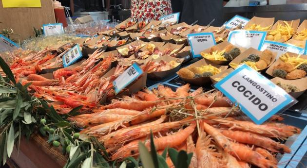 Imagen de uno de los mercados participantes