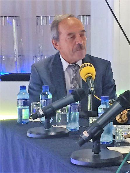 El alcalde de Oviedo, Wenceslao López, en Circus