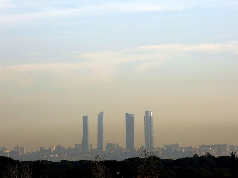 Madrid pretende reducir la contaminación un 23% hasta 2020