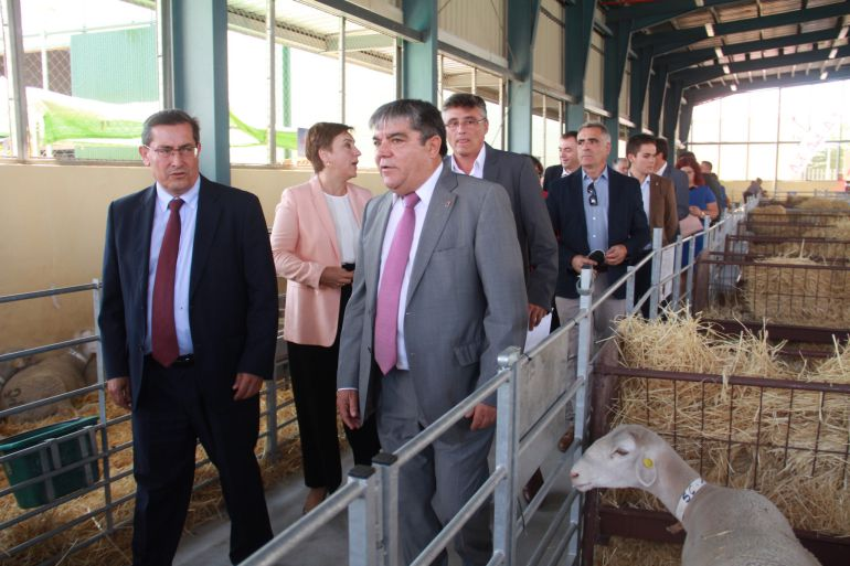 Inauguración de la feria del cordero segureño de Huéscar