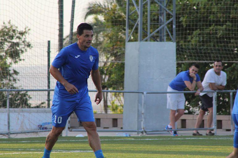 Dani Zúñiga durante un partido esta temporada