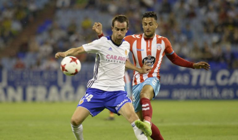 Un lance del Zaragoza - Lugo de la Copa del Rey