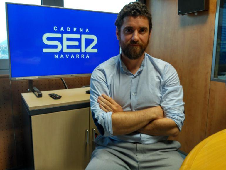 Ciro Larrañeta, CEO de la empresa navarra de ingeniería y consultoría Tetrace.