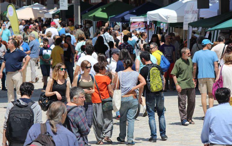 Imagen de la Feria de Economía Solidaria, el año pasado.