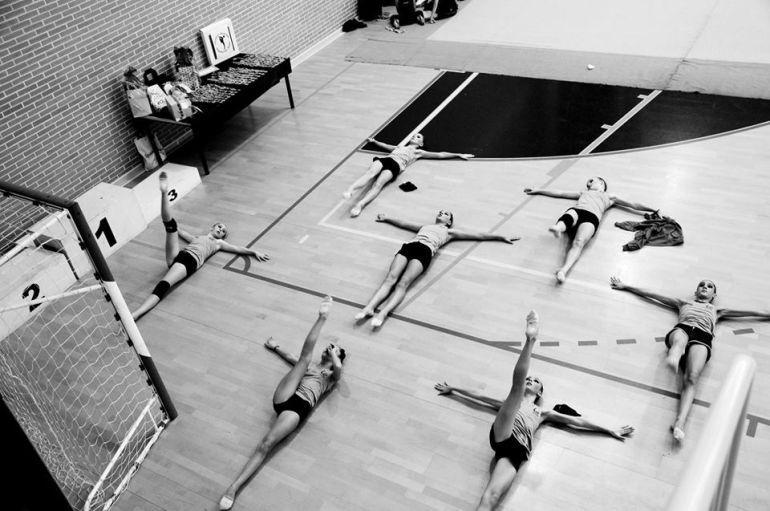 Dez ximnastas de trampolín do club ximnasia pavillón Ourense seleccionados pola RFEG para reprsentar a España nos mundiais por idades