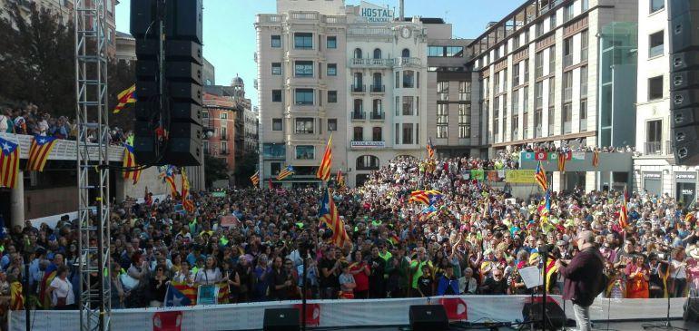 Diumenge, 24 de setembre, a la Plaça Sant Joan de Lleida