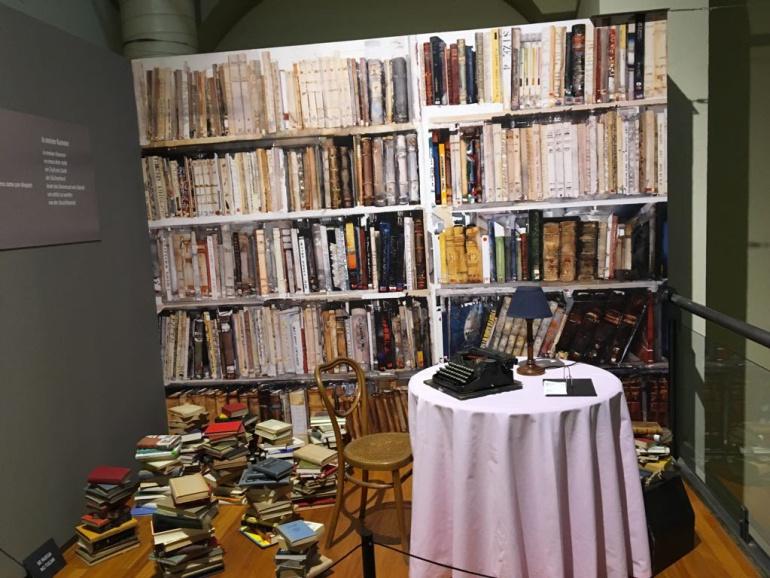 Habitación de Nelly Sachs, Nobel de Literatura