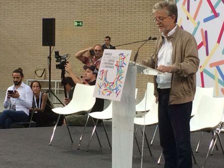 El alcalde en la cumbre de Podemos sobre el conflicto catalán