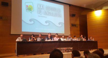 Este fin de semana se celebró la XXI Asamblea de IU en Jaén