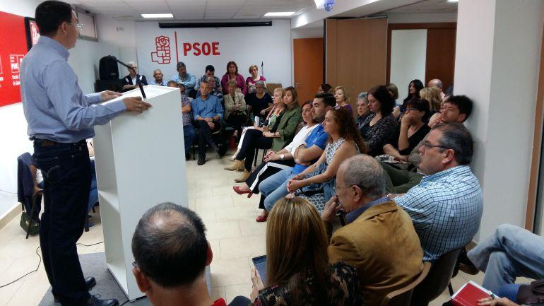 Pablos confirma que optará a un tercer mandato en el PSOE