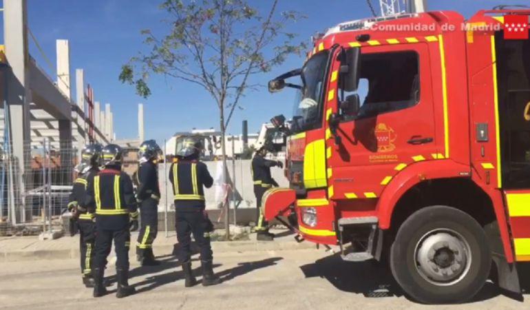 Accidente laboral en Villanueva de la Cañada