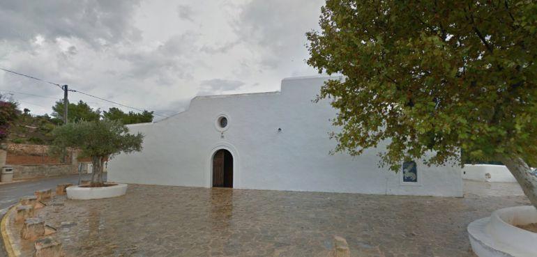 Imagen del núcleo urbano de Santa Agnès