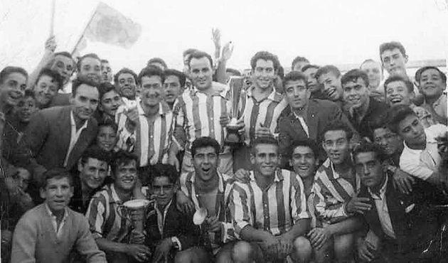 Club Deportivo Beneficencia con Falcón en el centro.