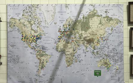 Puntos de venta en todo el mundo de Oleícola San Francisco.