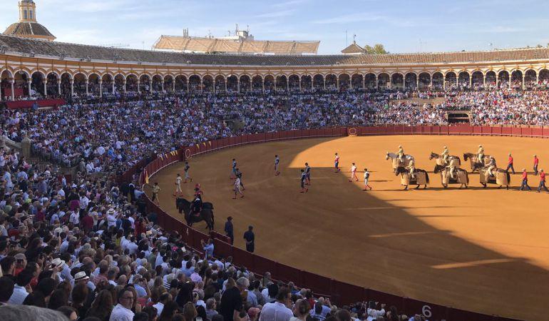 Imagen del último paseíllo de la temporada celebrado el pasado 24 de septiembre en La Maestranza