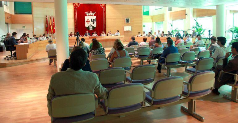 Sesión plenaria de septiembre en el ayuntamiento de Alcobendas