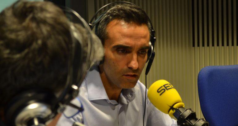 El candidato socialista Eusebio González Jabonero en La Ventana de Madrid