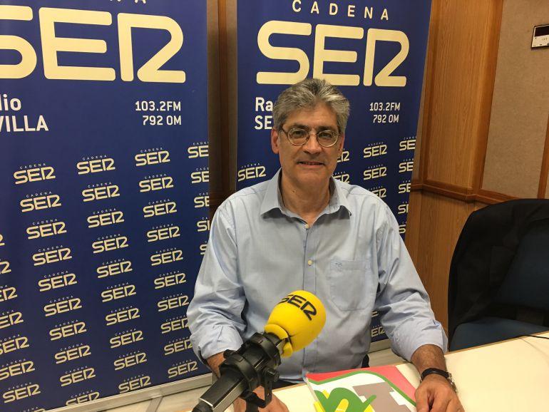 """Pérez Tapias: """"Quiero una IU fuerte y autónoma. No subordinada a Podemos"""""""