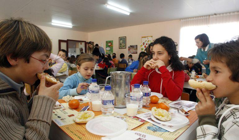 Comedores escolares familias necesitadas Castilla y León: 60.000 ...