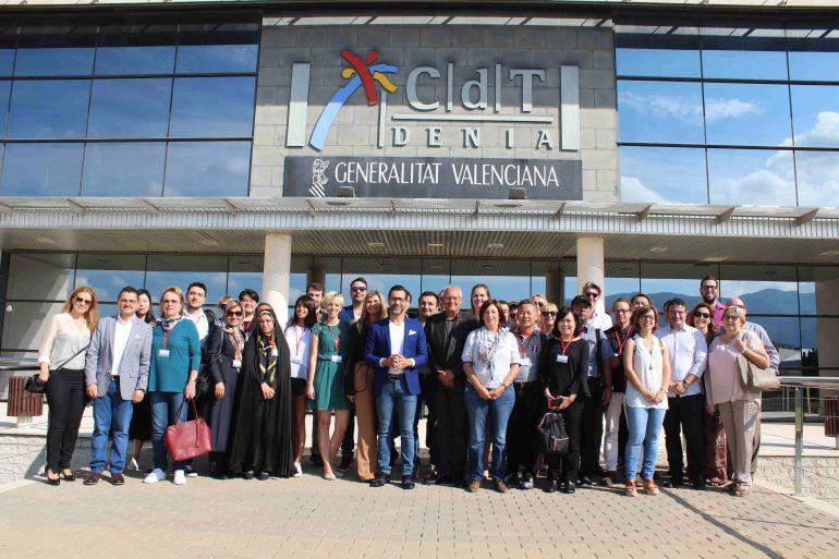 Bienvenida a los representantes de las Ciudades Creativas de la Gastronomía de la Unesco, en Dénia.