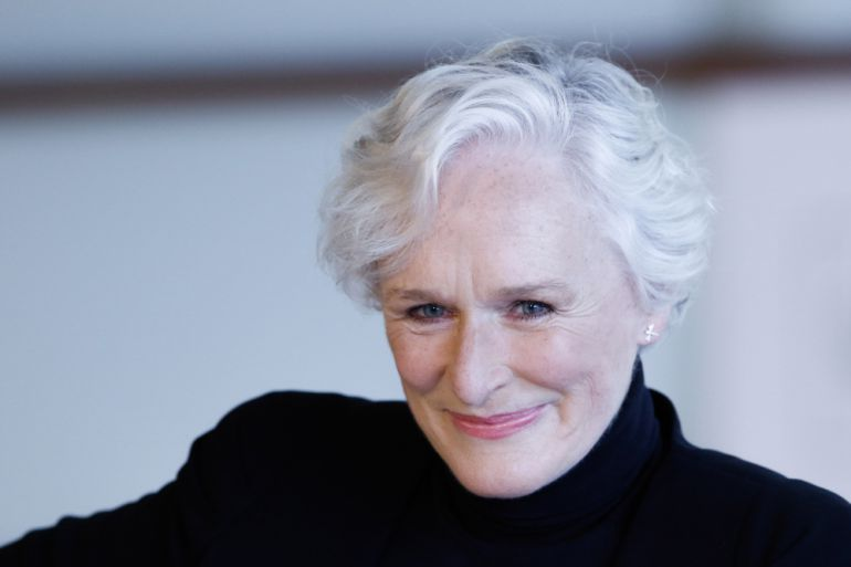 Glen Close en San Sebastián