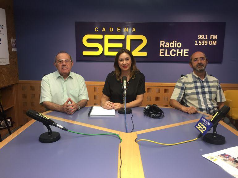 Antonio Sansano y Antonio Climent en el programa Hoy por Hoy con Cristina Medina