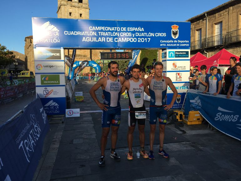 Jornada de iniciación al triatlón en Aguilar de Campoo