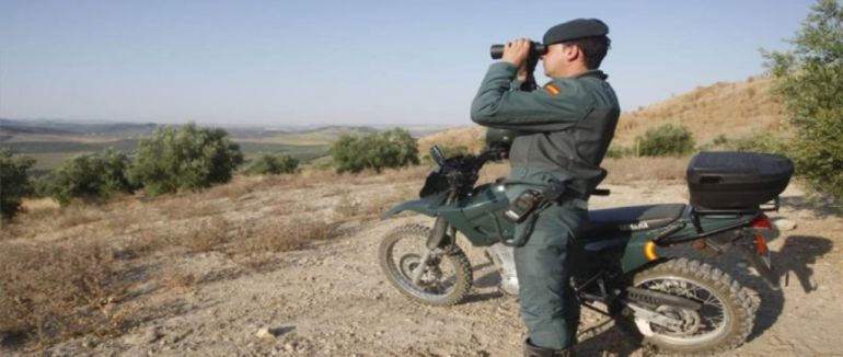 Un agente de Seprona vigila los montes