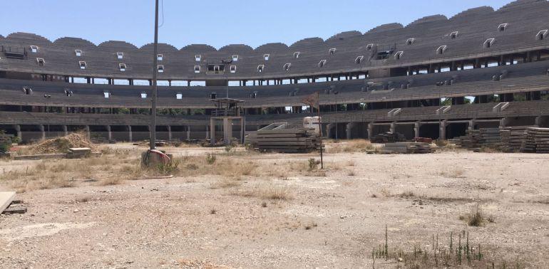 Nuevo Mestalla en 2017.