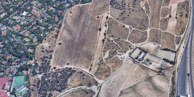 Situación de los terrenos de La Carrascosa