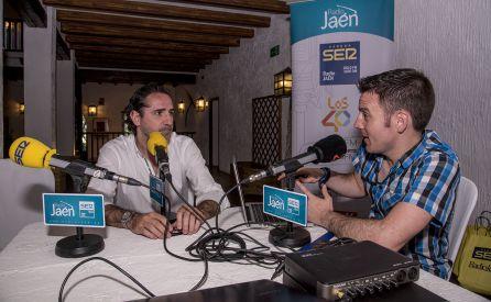 César García entrevista al gerente del Cortijo 'El Madroño', Nacho Gutiérrez.