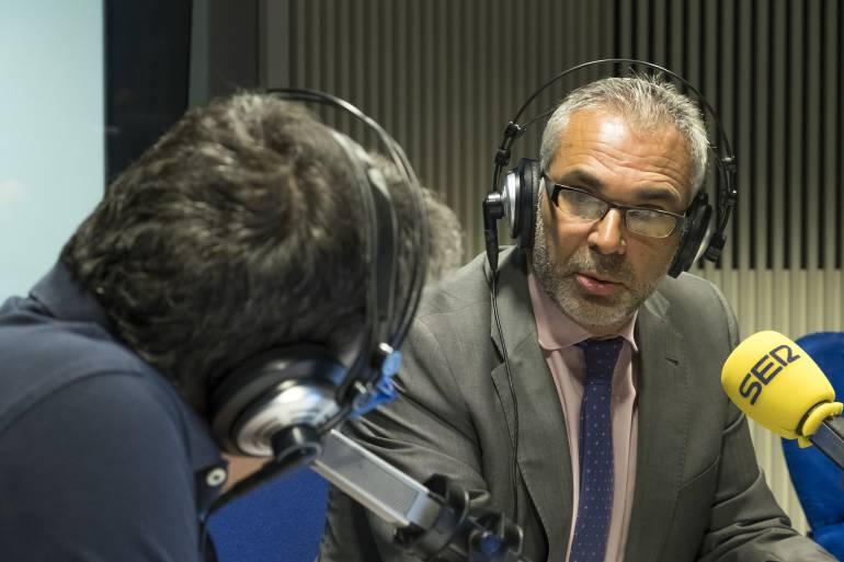 Carlos Izquierdo, en la Ventana de Madrid