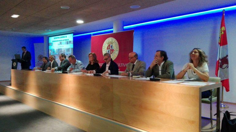 """Presentación de los grupos de trabajo del """"Zamora 10"""" en el Consejo Consultivo de Castilla y León"""