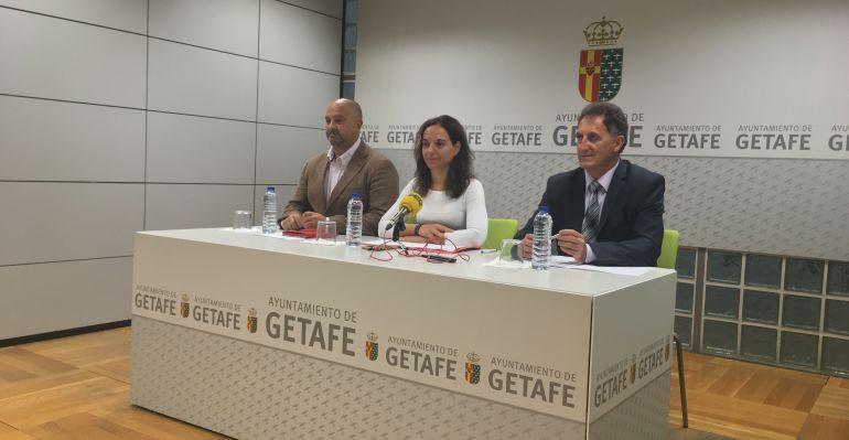 Rueda de prensa previa al Pleno del mes de octubre de Getafe