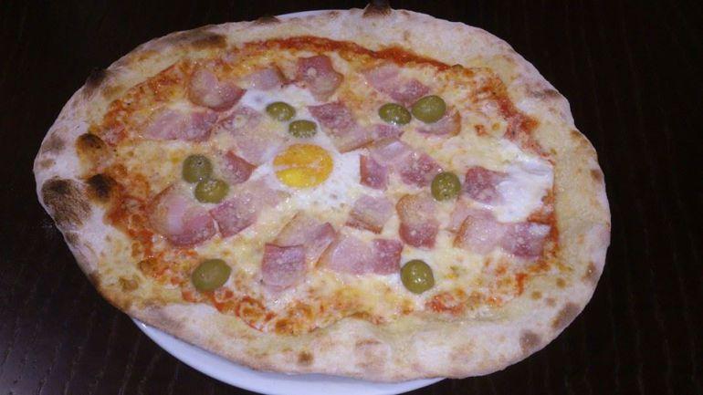 Una pizza de Restaurante O Chanto