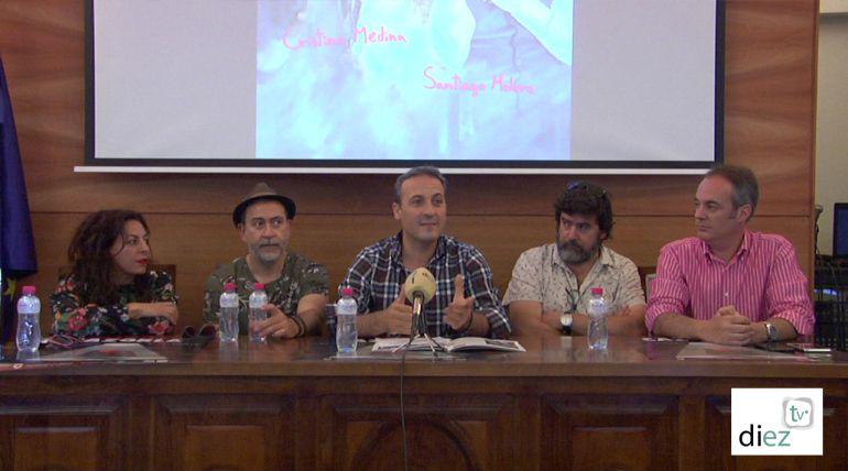 Presentacion del estreno ¡Ay Carmela! en el FIT Cazorla