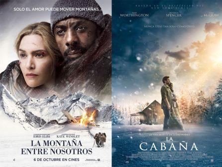 """""""La montaña entre nosotros"""" y """"La cabaña"""""""