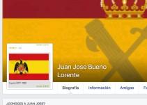 El alcalde del PP de Casas del Monte exhibe en Facebook la bandera franquista