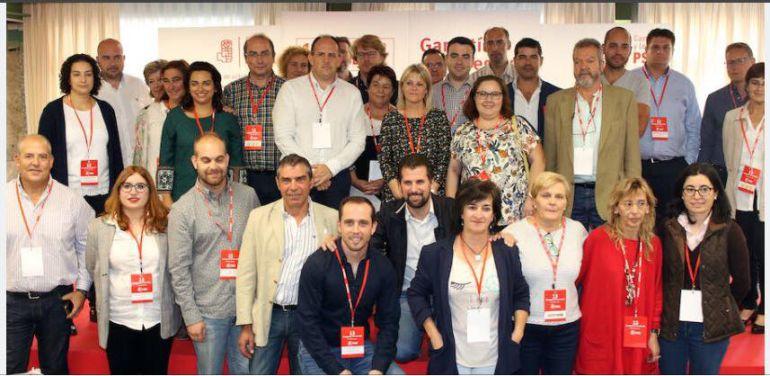 Nueva ejecutiva del PSOE segoviano
