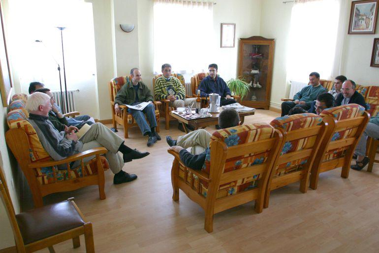 Imagen de los seminaristas que estudian en el Seminario Mayor Diocesano de Valladolid