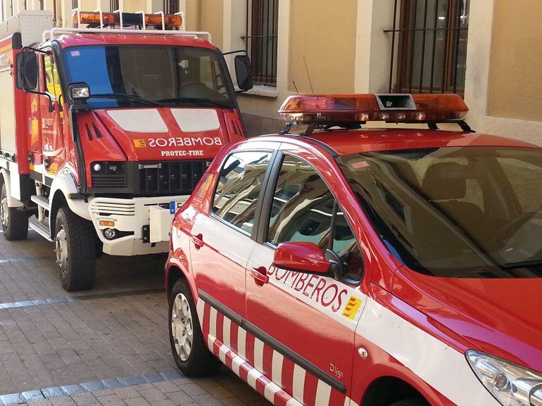 Bomberos de Oviedo colaboran en las actividades de la XII Semana de la Preneción de Incendios