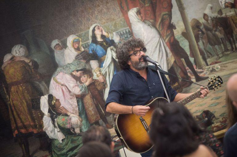 Concierto de Manu Ferrón en el Museo de Bellas Artes de Granada