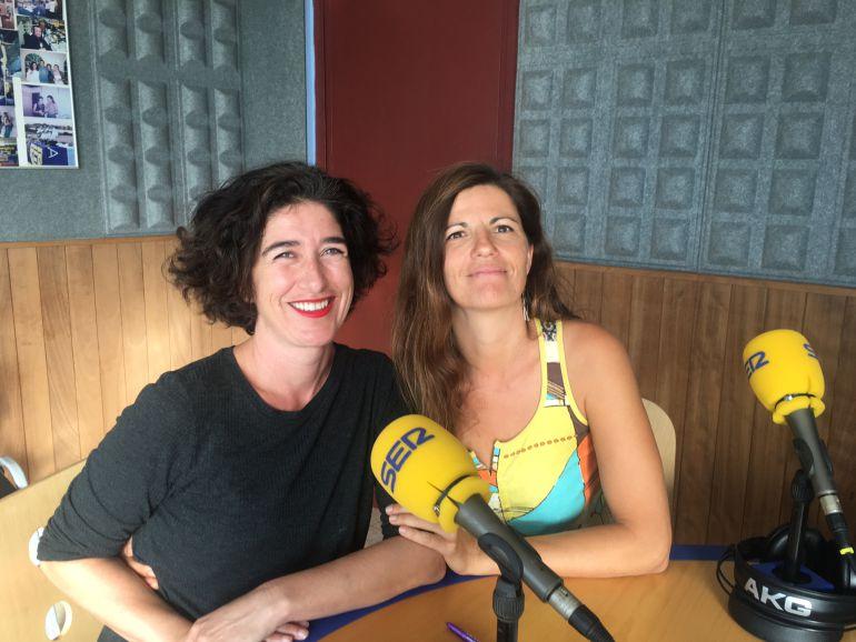 Carla Centelles e Inés Sarmiento