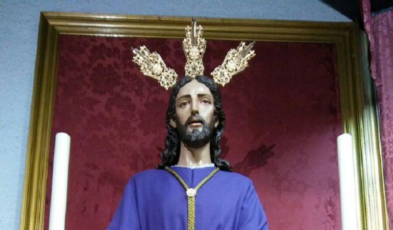 Imagen del Señor Cautivo, titular de la Hermandad de Torreblanca