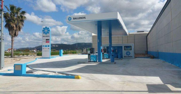 Una de las gasolineras del grupo Ballenoil