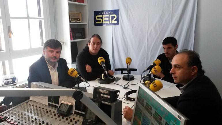 Francisco Martín, Mario Martín, Julián Rasero y Emilio Berzosa protagonizan la primera tertulia de la temporada